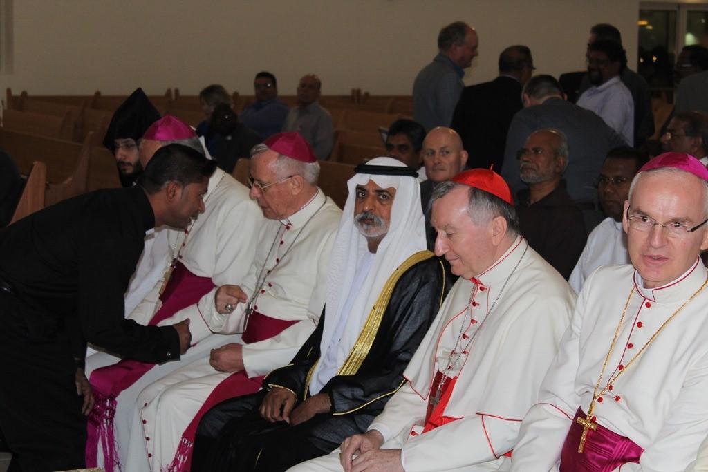 St. Paul's Mussaffah - Letzt Vorbereitungen . Inauguration . Kirchweihe (45)